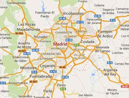 Mapa de buzoneo en Madrid  Buzoneo en Madrid  Collado Villalba